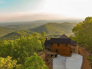 Above The Clouds is a fully customized cabin perfect for any vacation getaway. N