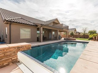 Elegant home with private pool near Sand Hollow and Zion
