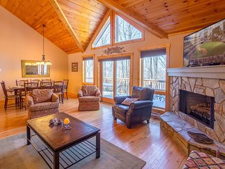 Beech Mtn Home, King Master Suite, Lake Access, Firepit, Nearby Skiing, Pet Frie