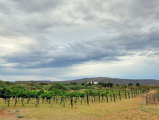 New to VRBO ~ Sorelle Vineyard ~ This magnificent getaway is located in Cornvill