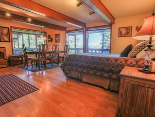 Slopeside Condo at Sunlight Mountain Resort - Studio Plus. 1 Queen Bed, 1 Queen