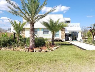 Beachside Bliss, Ocean View, 2 Bedroom, 1/2 Bath Beach Home