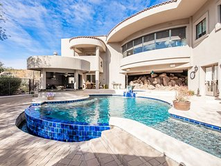 Extravagant Estate w/ Incredible Outdoor Entertaining Space, Pool & Hot  Tub