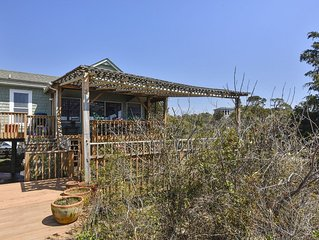 Beautiful soundfront location beside Jockey's Ridge State Park sound beach!