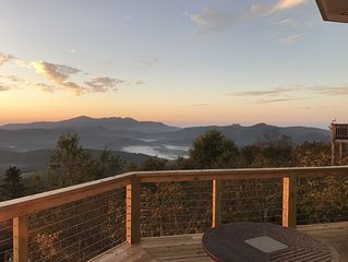 Ski Cabin with Massive Views on Beech Mountain, Ski In Ski Out Just 30 Yards Wra