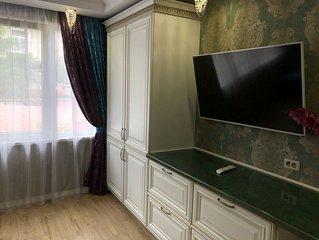 Luxury room with kitchen