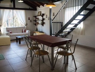 Nice house with swimming pool in Chacras de coria