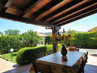 Villa with garden direct access to BEACH for SEA vacation in SICILY near CEFALU