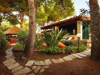 2 Bedrooms Villa, 2 Bathrooms, WiFi, Garden, bbq, Public Pool, very to the sea