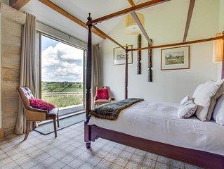 Luxury Peaceful Barn Conversion Sleeps 4 Amazing Views Harrogate 5* COW SHED