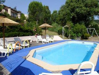 16 km de Grasse Gîte les  MIMOSAS 2-4 pers  piscine lac  st Cassien wifi