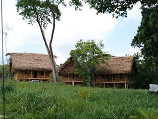 Rustic Mayan Cottage with modern amenities