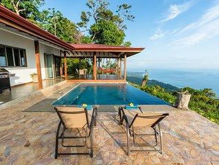 Casa Jardin de Osa 180° Ocean Views
