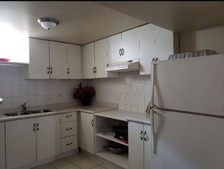 Basement Apartment centrally-located in Mississauga, ON