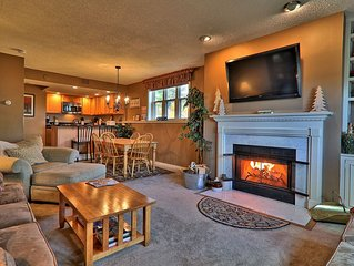 Newly remodeled 2 bedroom Winterplace Condo, Walk to the Trail.