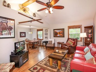 Cozy Home Near Blowing Rock, NC, Stone Fireplace, Foosball Table, Close to Ski S