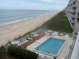 Oceanfront Condo--View Ocean-Beach-Pool From Private Balcony!