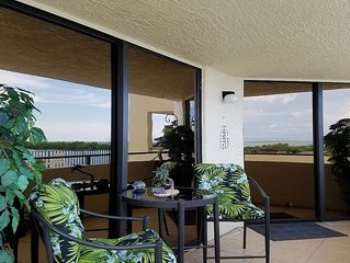 Oceanfront condo at Gulf Island Resorts. Breathtaking views.