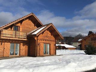 Promo : chalet 10 pers. Sauna, 10% vacances hiver