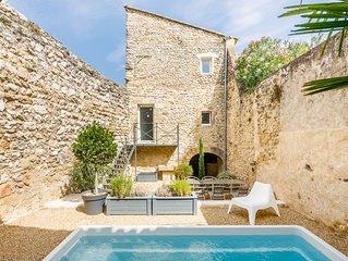 Maison village 17e avec piscine, Luberon Provence