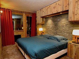 Appartement neuf, 50m2, 4/6p aux pieds des pistes. Ski in/out
