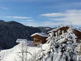 Les Gets / Haute-Savoie chalet individuel pour 5 personnes avec Sauna