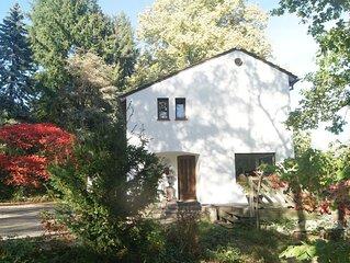 Gite Maison  à Munster  centre 'Chaumière Aux Roses ' SPA  sauna  jacuzzi