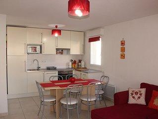 Bel appartement moderne tres lumineux