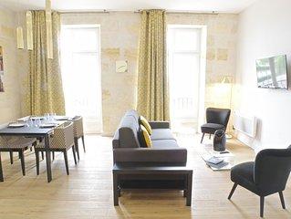 Bel appartement 2 chambres avec parking (vue imprenable Garonne)