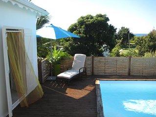 Agreable villa creole a Saint-Francois, idealement situee
