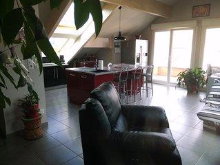 Superbe appartement style loft classé 3 étoiles