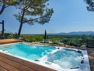 Villa interieur premium - Spa Piscine chauffes au dela de 30•C