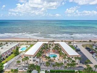 OCEAN VIEW CONDO~Pool, Cable TV, Wifi, Remote Garage, & Beach Access