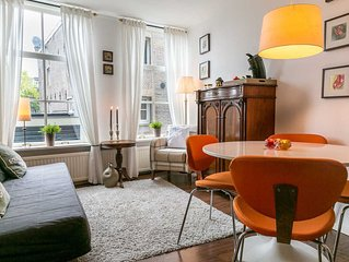 Lovely 1st Floor Apartment in Historic Canal House, Jordaan, Center, Amsterdam
