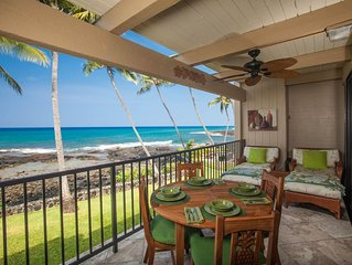 OCEANFRONT TWO BEDROOM CONDO with NEW A/C!  Cal King Beds in Both Bedrooms!