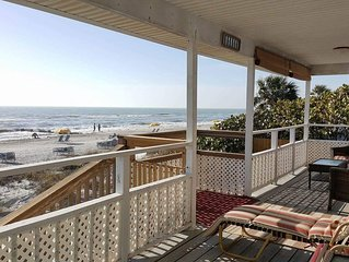 Maderia Beach Private House ON THE BEACH for less than a Hotel Room $250