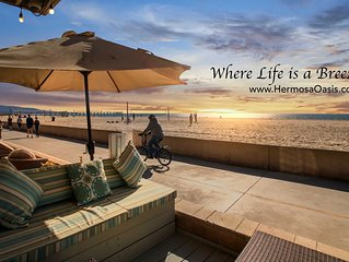 Hermosa Oasis: Oceanfront Strand Retreat: 'Best in Class ********* Hermosa Beach