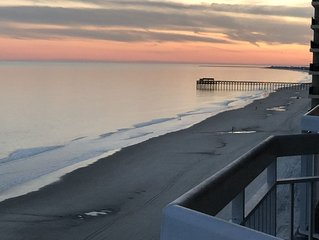 1BR, 2Bath  Oceanfront Condo, TOTAL REMODEL! Great View.