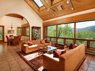 Beautiful East side Aspen home convenient to gondola and downtown