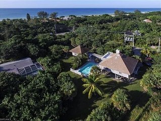Family Beach House/Guest House/Pool/Bikes/Paddle Board/Lg Yard/, Steps To Beach
