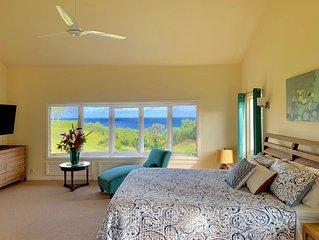 Heavenly OCEAN VIEWs A/C Joyful PRINCEVILLE 4BR/3BA 'Home of the OpeningFlower'