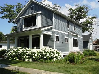 Leland Charmer On Second. Gorgeous Newer Home 3 Blocks to Leland & Lake MI