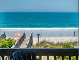 Stunning Oceanfront Beach Home with Modern High End Finishes and WiFi