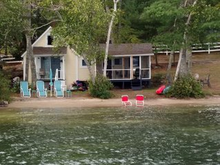 Lake Winnipesaukee-Waterfront, with own private beach, Gilford - sleeps 5