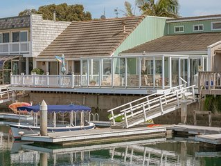 Water Front!  Upscale resort home on the water with boat dock!