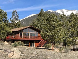 MOUNTAIN VIEW CHALET. Nestled on 3 acre lot, close to Everything in the Area!