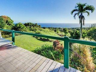 Private, Honeymoon Cottage - 180 Degree Ocean Views