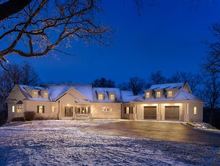 LARGE BEAUTIFUL HOME ON OVER 5 ACRES WITH ARCADE GAMES.