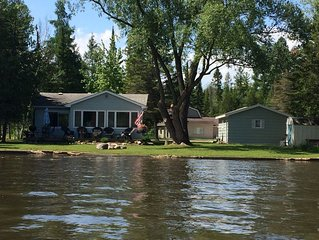 Hiawatha Creek Camp - On The Lake / Near Torch Lake - Sleeps 4