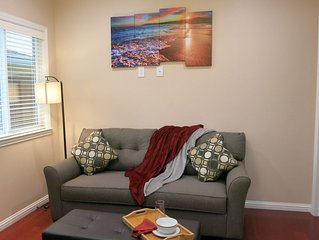High end 1BR/1BA Attached House in the Heart of Silicon Valley, Non-Smokers only